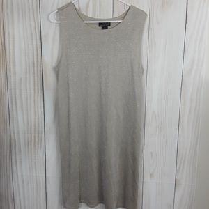 The Limited Metallic Sheath Dress